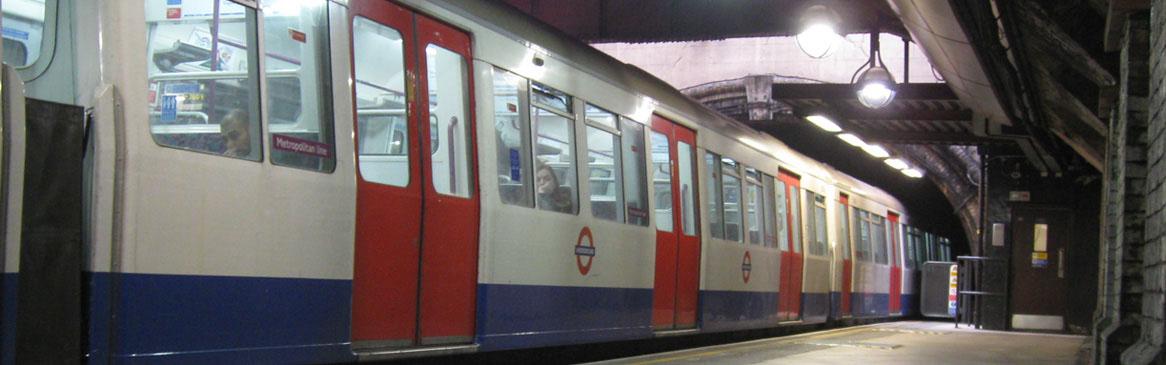 London tube slide1